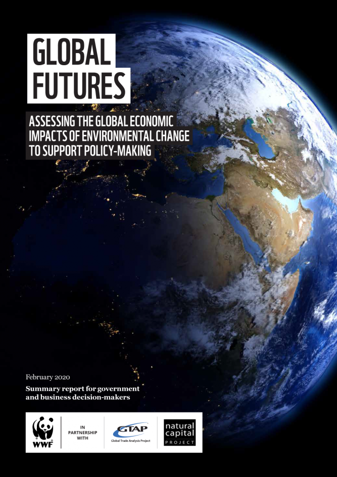Portada Informe WWF Global Futures